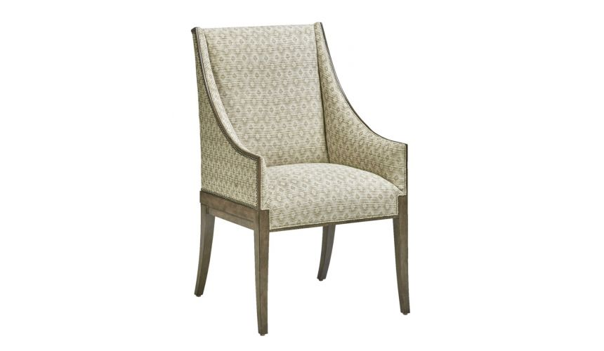 Dining Chairs Luxurious Buttermilk Head Dining Chair from our modern Dakota collection DTE48