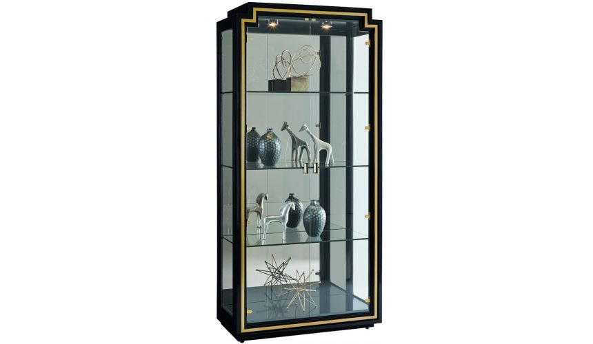 Display Cabinets and Armories Elegantly designed Art Deco display cabinet