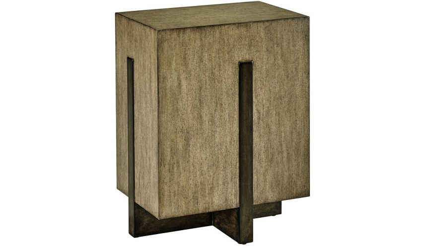 TABLES - SIDE, LAMP & BEDSIDE High End Contemporary Bedside Table from our modern Dakota collection DHA303