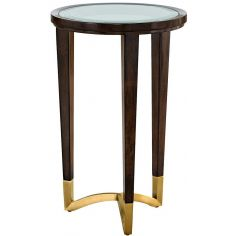 High End and Chic Mocha Bedside Table from our modern Dakota collection DLY304