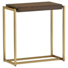 High End Minimalist Bedside Table from our modern Dakota collection DME32