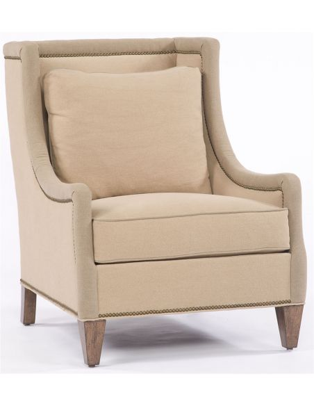 Modern Furniture Beige Accent Chair