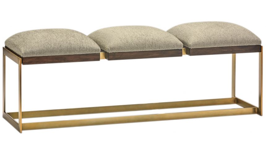 SETTEES, CHAISE, BENCHES Luxurious Cushioned Bench from our modern Dakota collection DME40