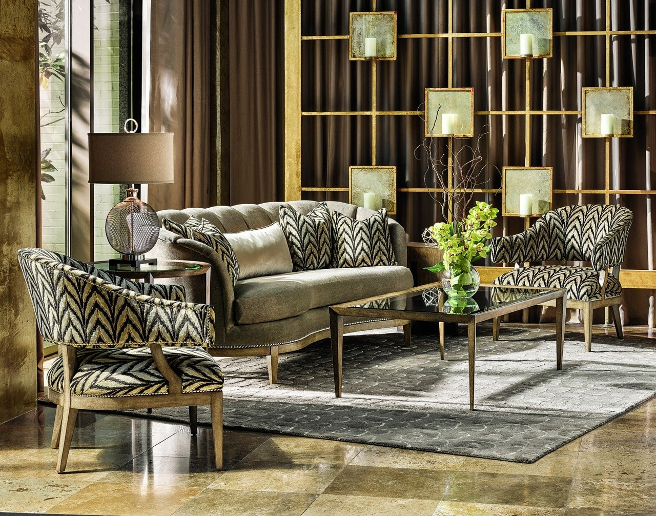 High End Modern Furniture: Classy High End Accent Chair From Our Modern Dakota