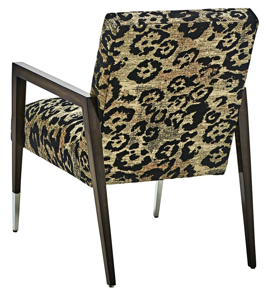 CHAIRS, Leather, Upholstered, Accent High End Accent Chair From Our Modern  Dakota Collection