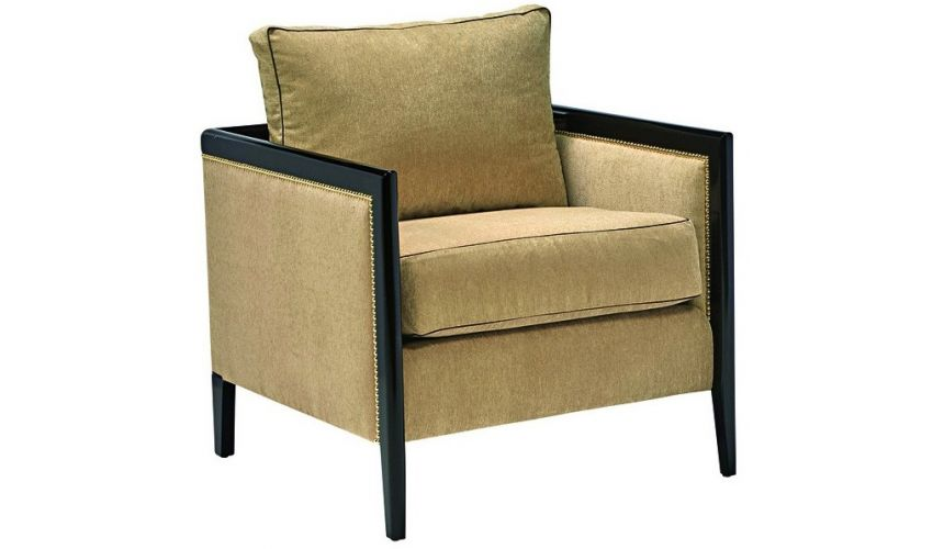 CHAIRS, Leather, Upholstered, Accent Accent chair from our modern Dakota collection