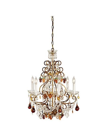 Lighting Fruit Patterned Crystal Chandelier