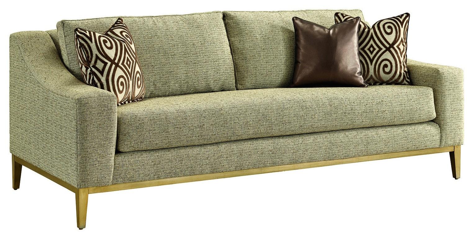 Metallic Finishing On This Sleek Luxury Sofa And Living