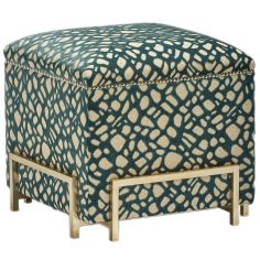 High End Ottoman from our modern Dakota collection