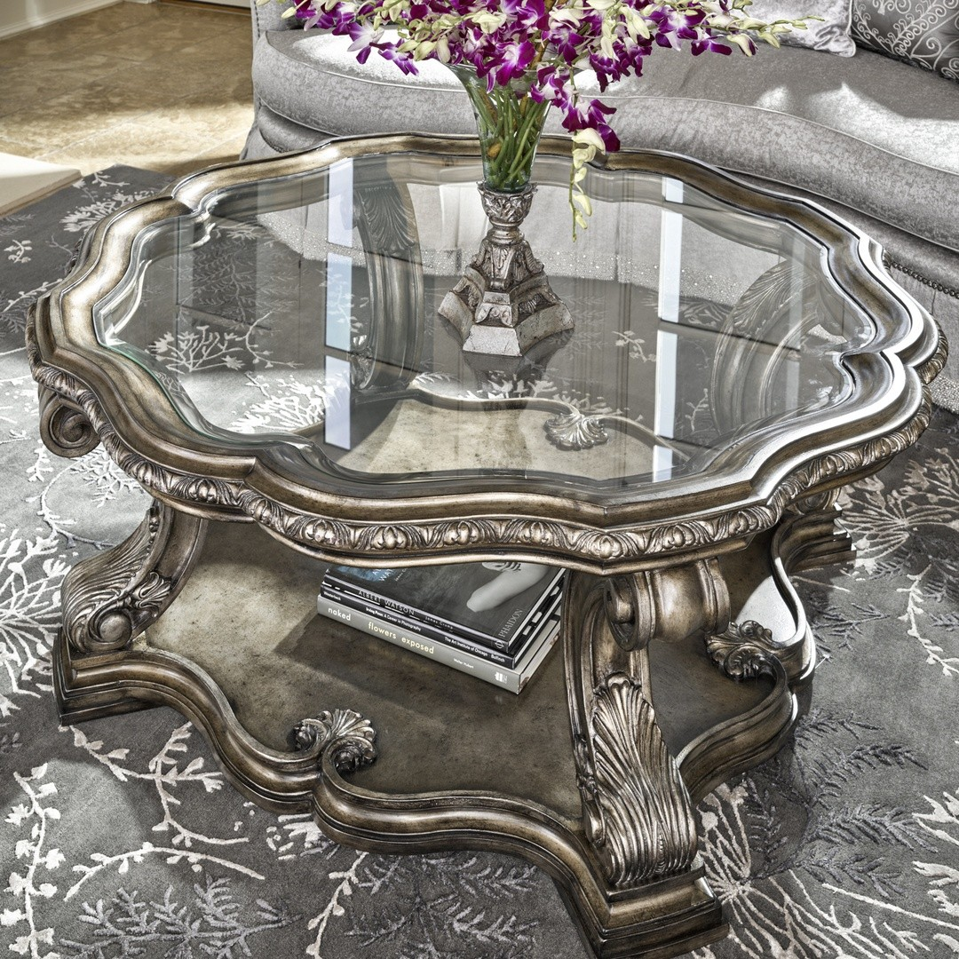 Mystical Glass Center Table