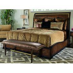 Elegantly designed Art Deco styled master bed