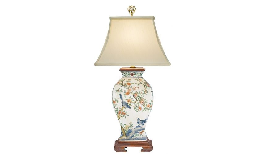 Decorative Accessories Hand Painted Birdy Lamp