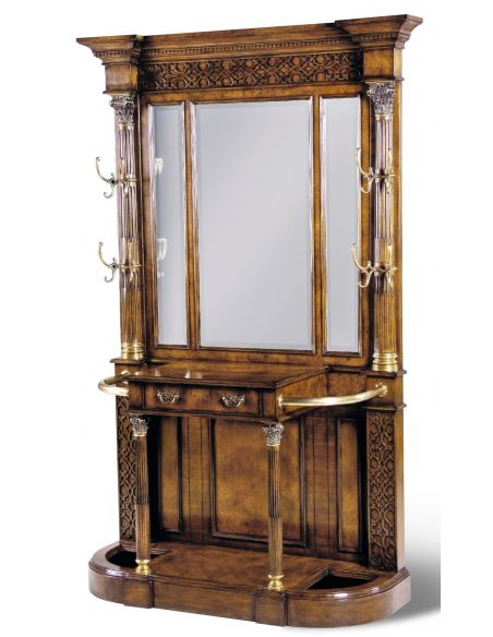 Display Cabinets and Armories Luxury Furniture Hall Cabinet