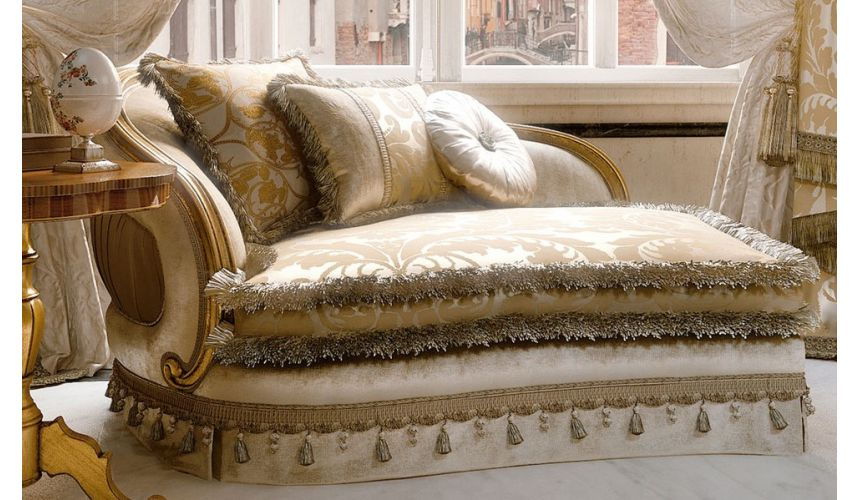 SOFA, COUCH & LOVESEAT Furniture Masterpiece Collection. Luxury chaise lounge