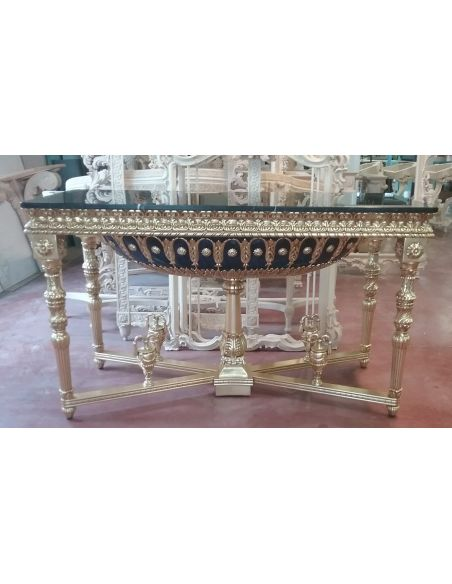 Handmade Italian Luxury Furniture Authentic reproduction console table