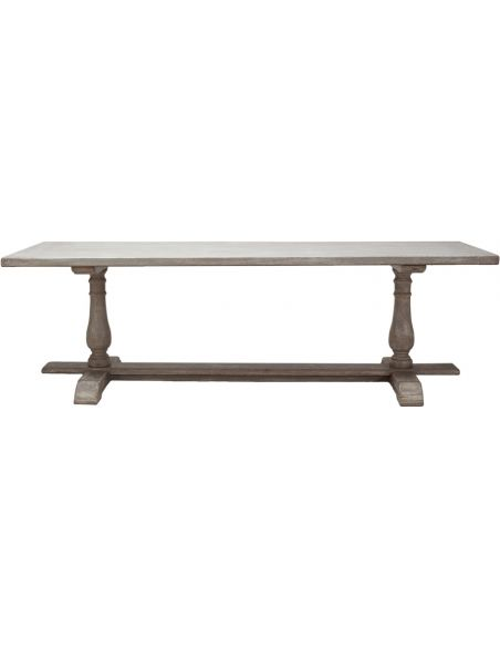 Dining Tables Rectangular Double Pedestal Dining Table
