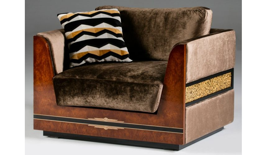 CHAIRS, Leather, Upholstered, Accent DALLAS COLLECTION. SOFA 1 SEATER