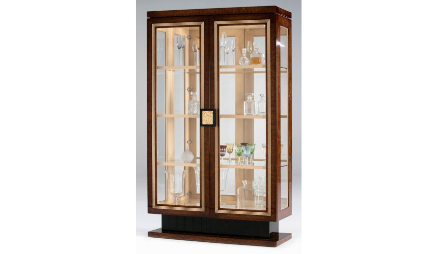 Breakfronts & China Cabinets DALLAS COLLECTION. CABINET