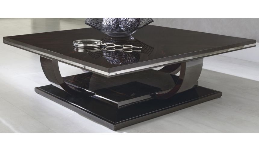 Rectangular and Square Coffee Tables MALIBU COLLECTION. COFFEE TABLE