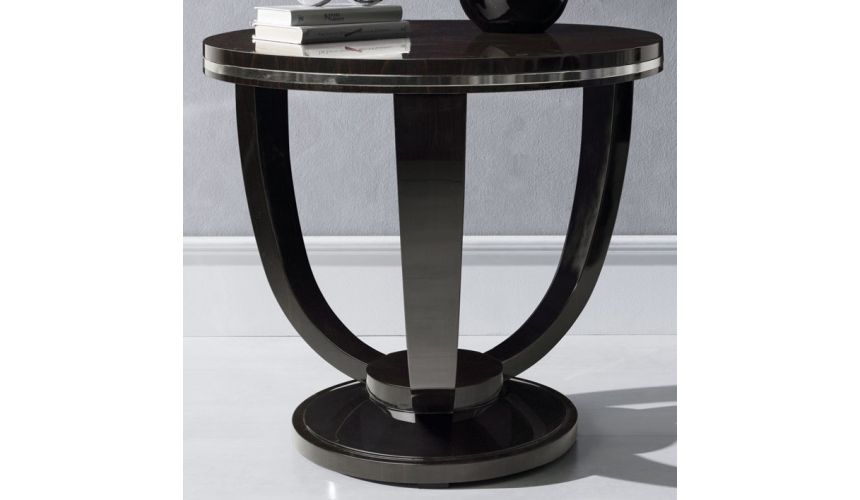 Round & Oval Side Tables MALIBU COLLECTION. SIDE TABLE B
