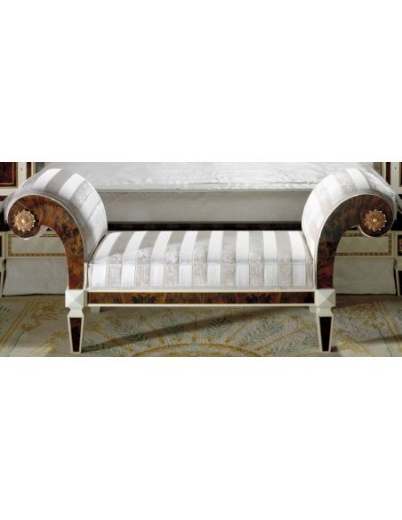 SETTEES, CHAISE, BENCHES KNIGHTSBRIDGE COLLECTION. BENCH