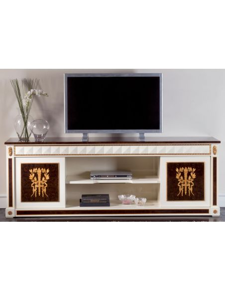 Entertainment Centers, TV Consoles, Pop Ups KNIGHTSBRIDGE COLLECTION. TV FRUNITURE