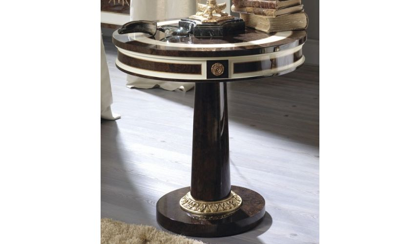 Round & Oval Side Tables KNIGHTSBRIDGE COLLECTION. SIDE TABLE