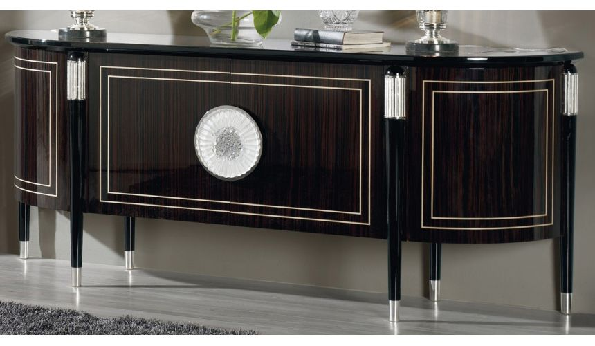 Breakfronts & China Cabinets NEWPORT COLLECTION. SIDEBOARD