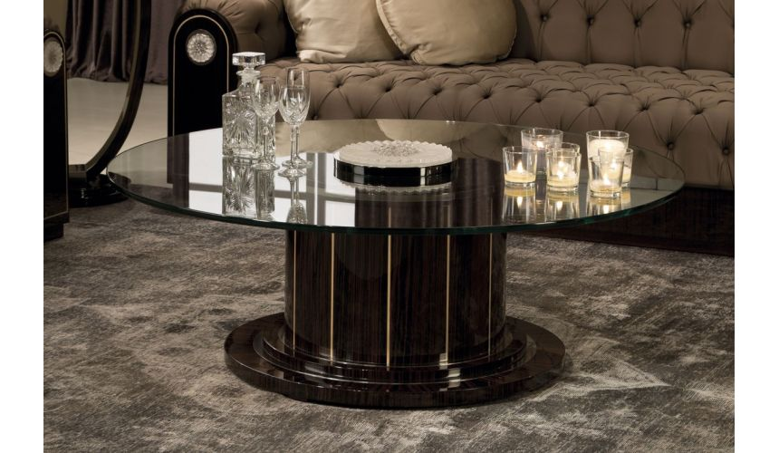 Round and Oval Coffee tables NEWPORT COLLECTION. COFFEE TABLE