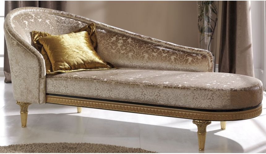 SETTEES, CHAISE, BENCHES BEVERLY COLLECTION. CHAISE LONGUE