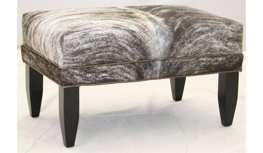 Luxury Leather & Upholstered Furniture Ottoman 3533-00