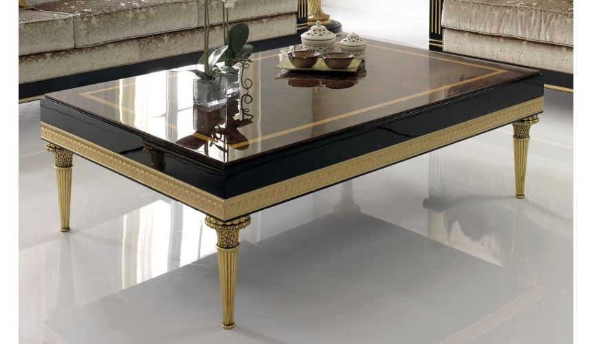 Rectangular and Square Coffee Tables BEVERLY COLLECTION. COFFEE TABLE B