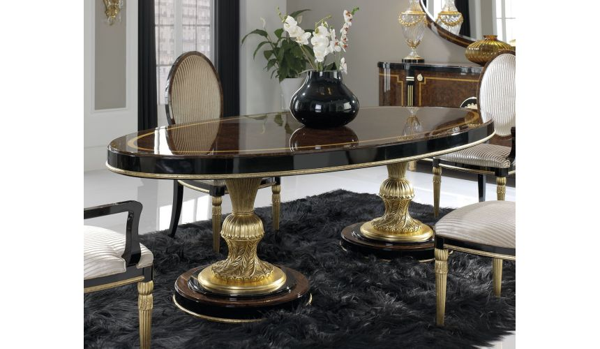 DINING ROOM FURNITURE BEVERLY COLLECTION. DINING TABLE