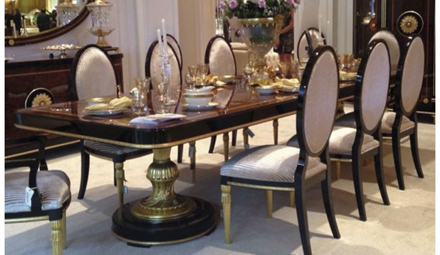 DINING ROOM FURNITURE BEVERLY COLLECTION. DINING TABLE B