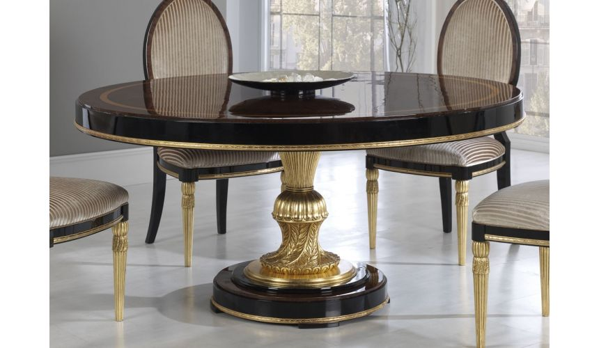 DINING ROOM FURNITURE BEVERLY COLLECTION. DINING TABLE C