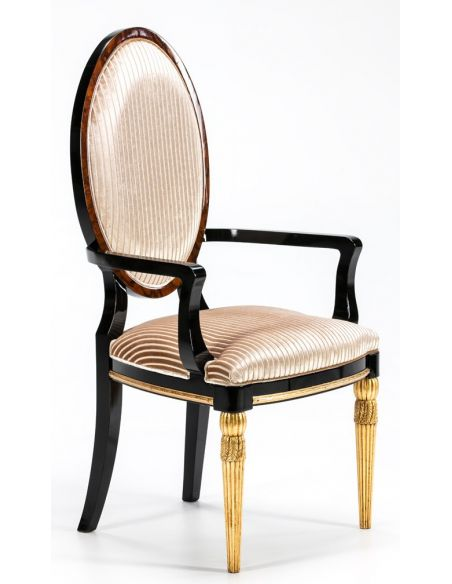Dining Chairs BEVERLY COLLECTION. ARMCHAIR