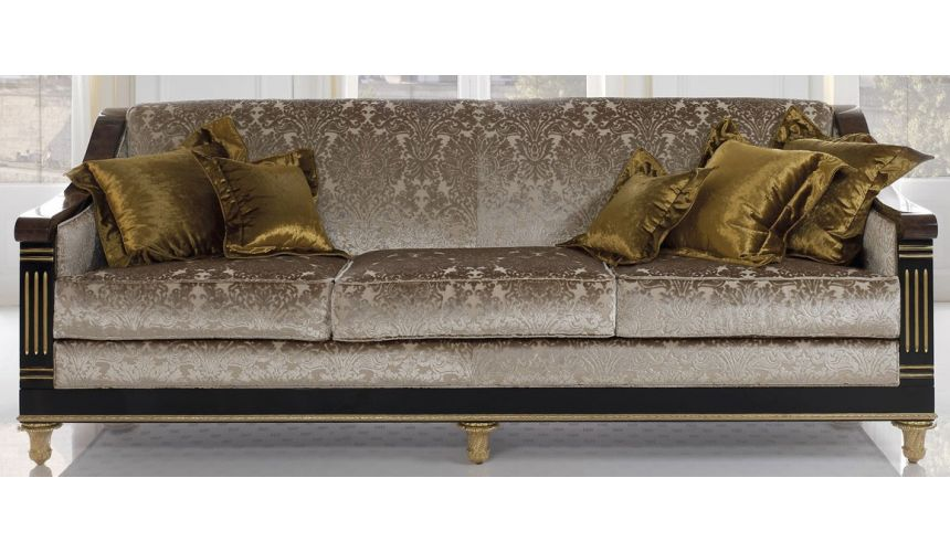 SOFA, COUCH & LOVESEAT BEVERLY COLLECTION. SOFA 3 SEATER