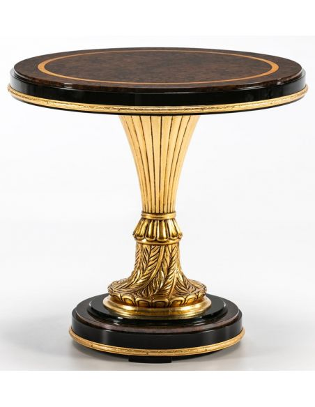 Round & Oval Side Tables BEVERLY COLLECTION. SIDE TABLE