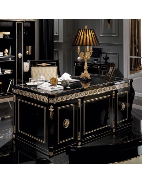 Library & Home Office Furniture BELARUS COLLECTION. DESK B