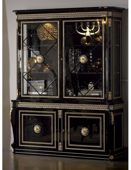 Breakfronts & China Cabinets BELARUS COLLECTION. CABINET