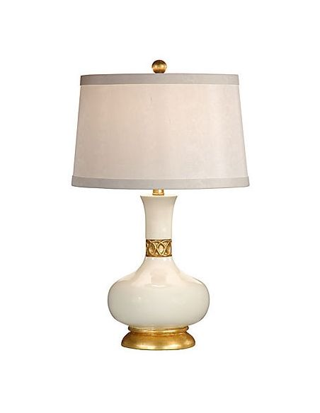 Decorative Accessories White-Gold Elegant Urn Lamp
