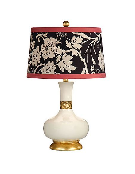 Decorative Accessories Black and Red Garden Lamp