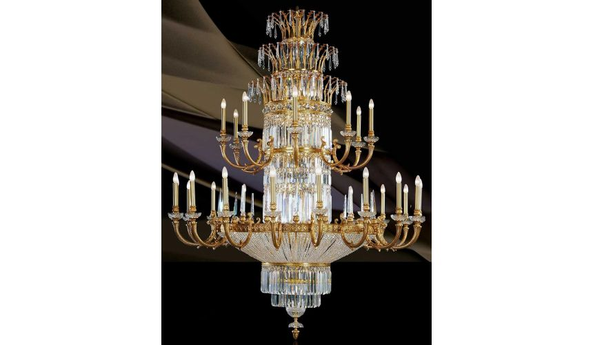 Chandeliers LARGE CHANDELIER. Padua Collection 29895
