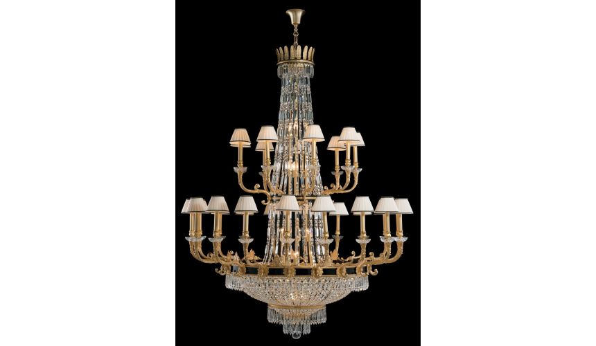 Chandeliers LARGE CHANDELIER. Padua Collection 30106