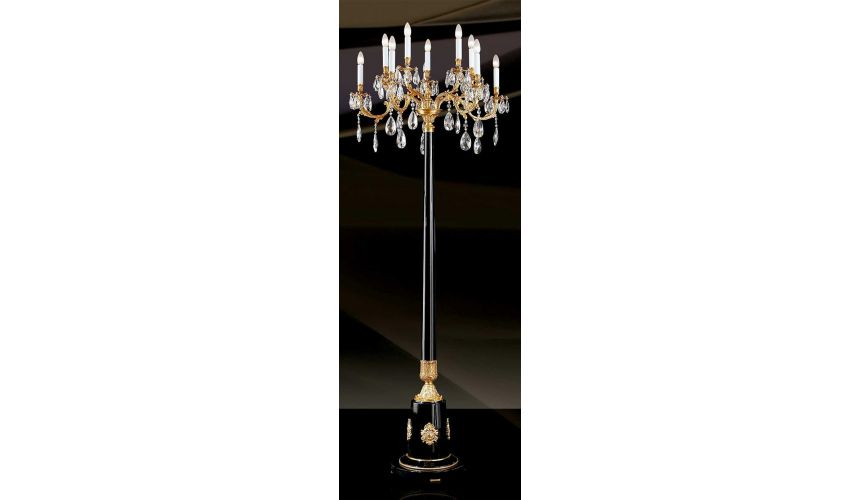 Empire Style Furniture FLOOR LAMP. Padua Collection 29881