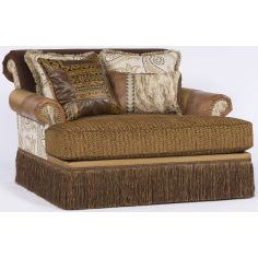 Western style chaise or double chair.