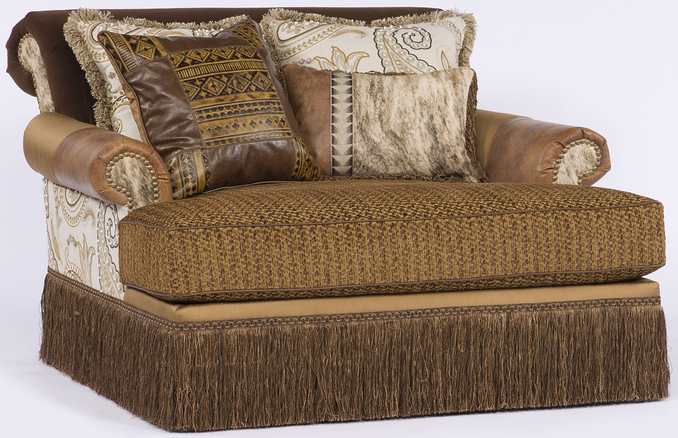 Western Style Chaise Or Double Chair