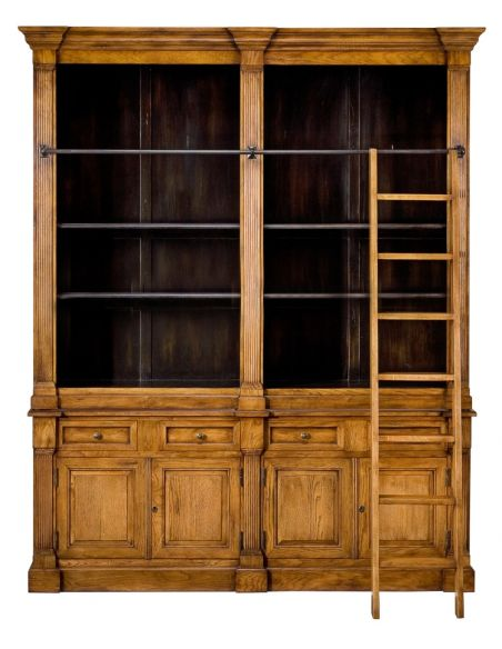 Bookcases Lancaster Oak Bookcase.