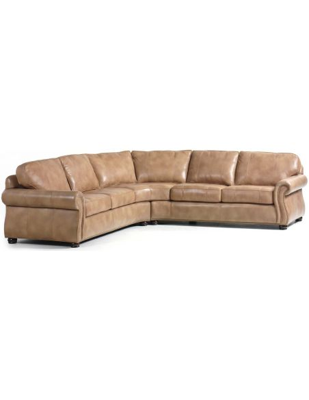 SECTIONALS - Leather & High End Upholstered Furniture Barrington Sectional Couch