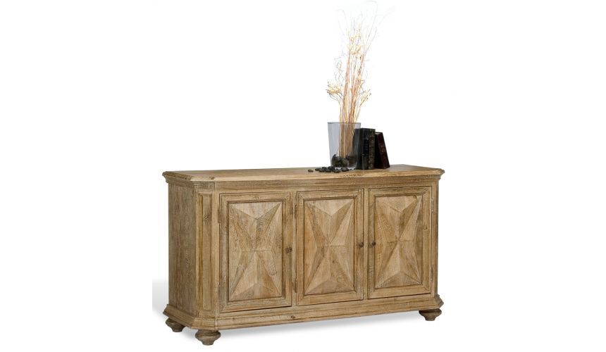 Breakfronts & China Cabinets Sedona Three Door Sideboard 65\""